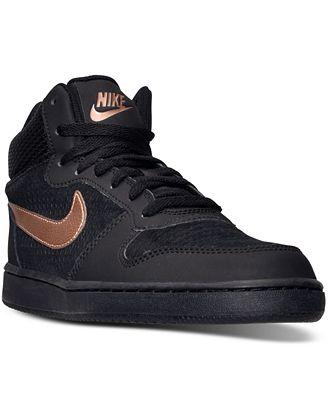 Nike Women's Court Borough Mid Lifestyle Shoes