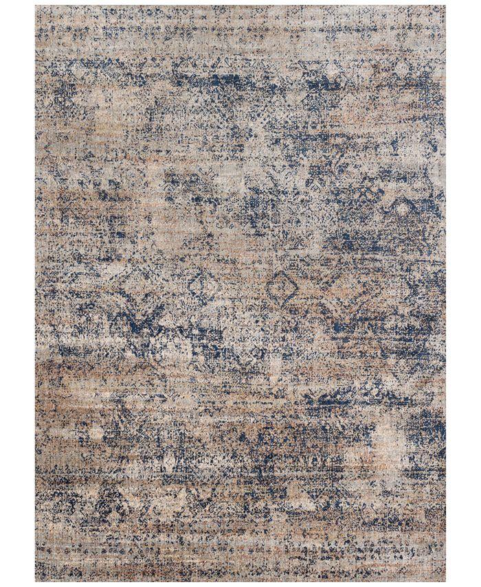 """Loloi - Anastasia AF-13 Mist/Blue 7' 10"""" x 10' 10"""" Area Rugs"""