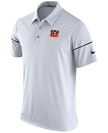 Nike Men's Cincinnati Bengals Team Issue Polo Shirt