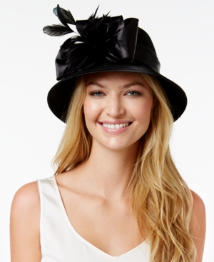 Edwardian Style Hats, Titanic Hats, Derby Hats August Hats Feminine Dress Cloche $47.60 AT vintagedancer.com