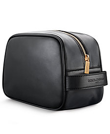 Recieve a Complimentary DOLCE&GABBANA Pouch with any large spray purchase from the DOLCE&GABBANA Men's Fragrance Collection
