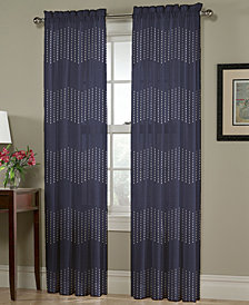 "Homewear Chevron Pick-Stitch 54"" x 63"" Panel"