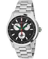 1909bb23f49e07 Gucci Men s Swiss Chronograph G-Timeless Stainless Steel Bracelet Watch  44mm YA126267