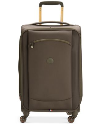 "Image of Delsey Hyperlite 2.0 20"" Carry-on Expandable Spinner Suitcase, Only at Macy's"