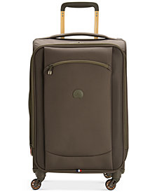 "CLOSEOUT! Delsey Hyperlite 2.0 20"" Carry-on Expandable Spinner Suitcase, Created for Macy's"