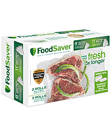FoodSaver FSFSBF0746-042 Heat Seal Rolls, Combo Pack