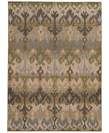 "Tommy Bahama Home Vintage 8122W Beige 7' 10"" x 10' 10"" Area Rug"