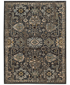 "Tommy Bahama Home Vintage 668N Blue 5' 3"" x 7' 6"" Area Rug"