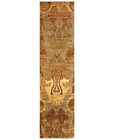 "Tommy Bahama Home Ansley Jute 50903 Beige 2' 6"" x 10' Runner Area Rug"
