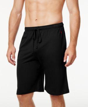 POLO RALPH LAUREN Ralph Lauren Supreme Comfort Sleep Shorts in Polo Black