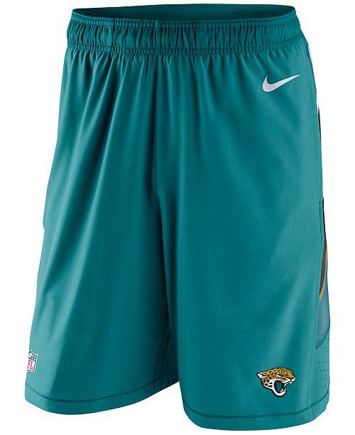 77e2fb7312f8 Nike Men s Jacksonville Jaguars Speed Vent Shorts   Reviews - Sports ...