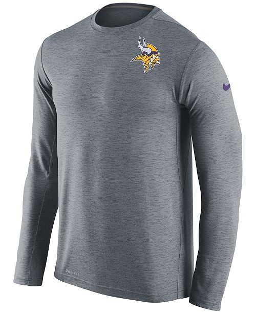 5c17c986a ... Nike Men's Minnesota Vikings Dri-FIT Touch Long Sleeve T-Shirt ...