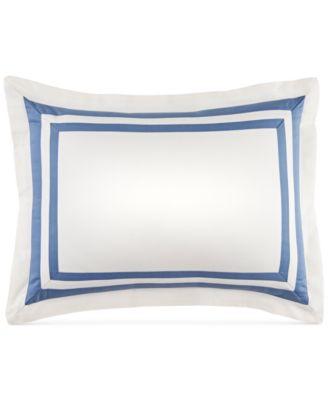 """CLOSEOUT! Double Border 12"""" x 16"""" Decorative Pillow"""