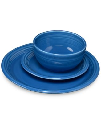 Fiesta Lapis 3-Pc. Bistro .  sc 1 st  Macyu0027s & Fiesta Blues 16-Piece Dinnerware Set Created for Macyu0027s ...