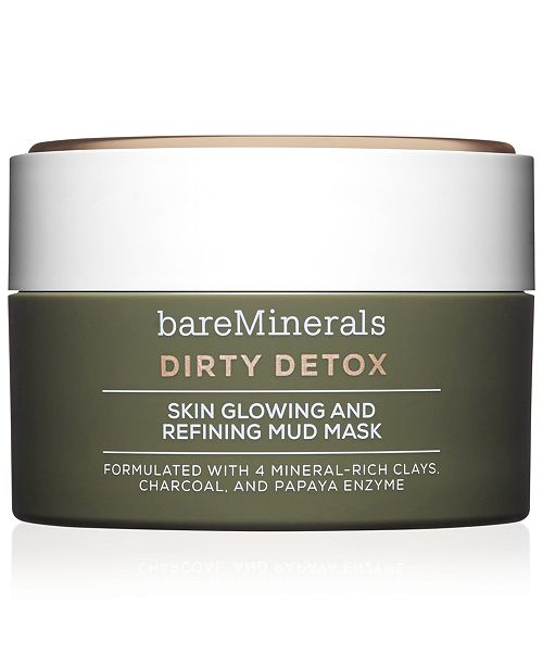 bareMinerals Dirty Detox™ Skin Glowing and Refining Mud Mask, 2.04 oz
