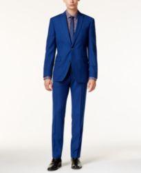 Bar III Men's Slim-Fit Cobalt Blue Suit Separates, Only at Macy's