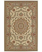 CLOSEOUT! D Style Beacon BEA8021 Ivory Area Rugs