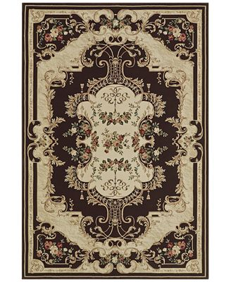 CLOSEOUT! D Style Beacon BEA4 Chocolate Area Rugs