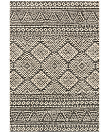 "Loloi Emory EB-08 Graphite/Ivory 2'5""x7'7"" Runner Area Rug"