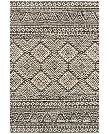 Loloi Emory EB-08 Graphite/Ivory Area Rugs