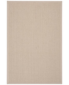 "CLOSEOUT! kathy ireland Home Seascape SEA01 Mist 5' X 7'6"" Area Rug"
