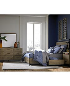 Gatlin Storage Queen Platform Bedroom 3-Pc. Set (Queen Bed, Dresser & Nightstand), Created for Macy's