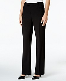 Modern Straight-Leg Dress Pants