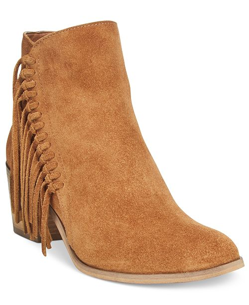 7025ce42be307 Kenneth Cole Reaction Rotini Fringe Ankle Booties & Reviews - Boots ...