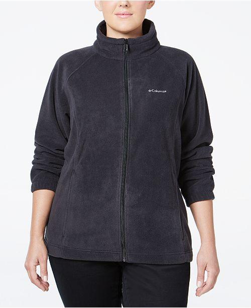 Columbia Plus Size Benton Springs Fleece Jacket