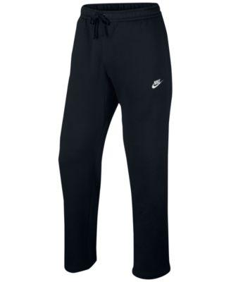 Men's Open-Hem Sweatpants