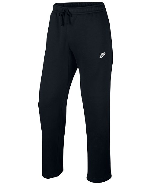 849152baf0bdd Nike Men's Open-Hem Sweatpants & Reviews - All Activewear - Men - Macy's