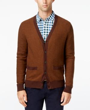 Men's Vintage Style Sweaters – 1920s to 1960s Tommy Hilfiger Mens Tobin Cardigan $39.99 AT vintagedancer.com