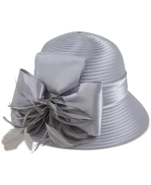 Edwardian Style Hats, Titanic Hats, Derby Hats August Hats Feminine Dress Cloche $34.00 AT vintagedancer.com