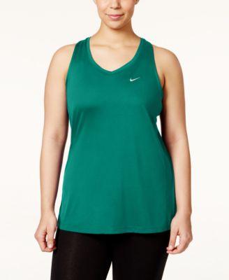 Nike Plus Size Miler Dri-FIT Racerback Tank Top