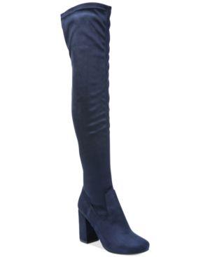 Carlos by Carlos Santana Rumor Over-The-Knee Block-Heel Boots Women