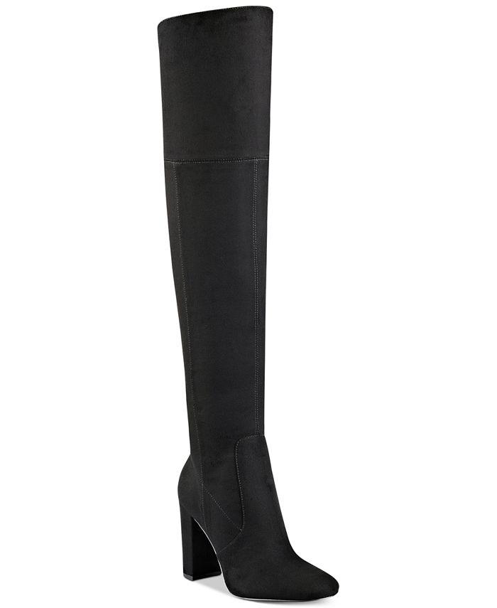 Ivanka Trump - Rylee Block-Heel Over-The-Knee Boots