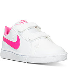 Nike Little Girls' Court Royale Casual Sneakers from Finish Line