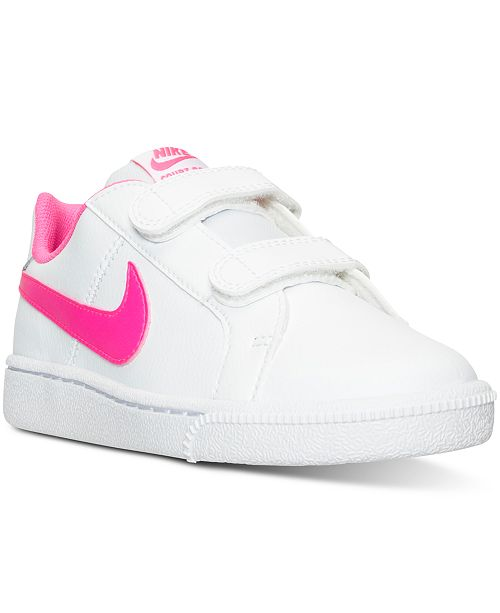 0cecbb282 Nike Little Girls  Court Royale Casual Sneakers from Finish Line ...
