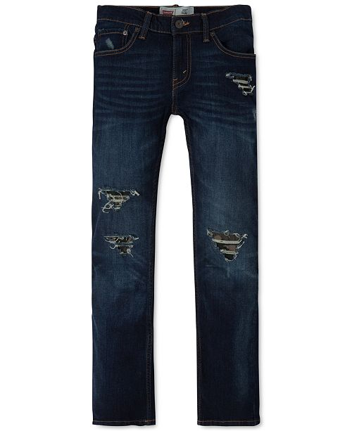 3c786d5a ... Big Boys; Levi's 511™ Slim Fit Frayed Ripped Jeans, ...
