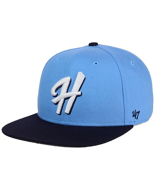 47 Brand Hillsboro Hops Shot Snapback Cap - Sports Fan Shop By Lids ... 402bd50ca04