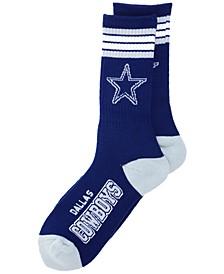 Dallas Cowboys 4 Stripe Deuce Crew 504 Sock