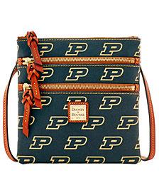 Dooney & Bourke Purdue Boilermakers Triple Zip Crossbody Bag