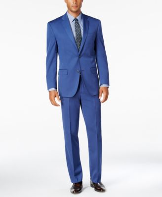 Sean John Men's Classic-Fit New Blue Pants - Suits & Suit ...