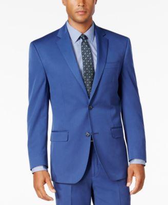 Men's Classic-Fit New Blue Jacket
