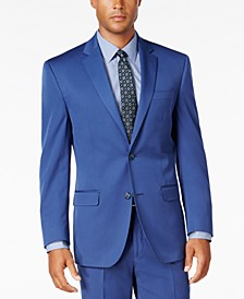 Men's Classic-Fit New Blue Suit Separate Jacket