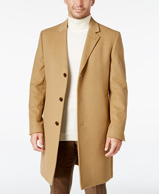 Men's Luther Wool Blend Top Coat by General