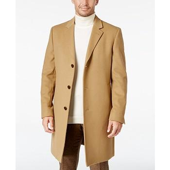 Lauren Ralph Lauren Luther Wool Mens Blend Top Coat