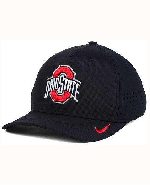 sale retailer 6df80 4a368 ... Nike Ohio State Buckeyes Vapor Sideline Swoosh Flex Cap ...