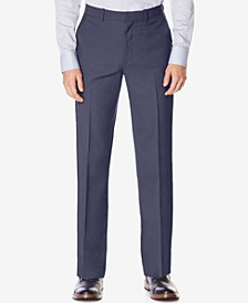 Portfolio Big and Tall Classic-Fit No Iron Nailhead  Men's Dress Pants