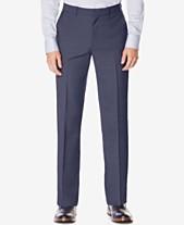 Perry Ellis Portfolio Big and Tall Classic-Fit No Iron Nailhead Men s Dress  Pants 2884f06a1